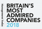 Britain's Most Admired Companies 2018 logo