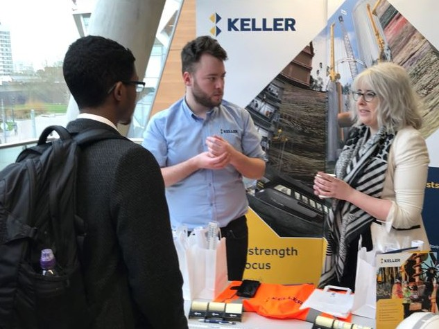 Keller UK at graduates fair