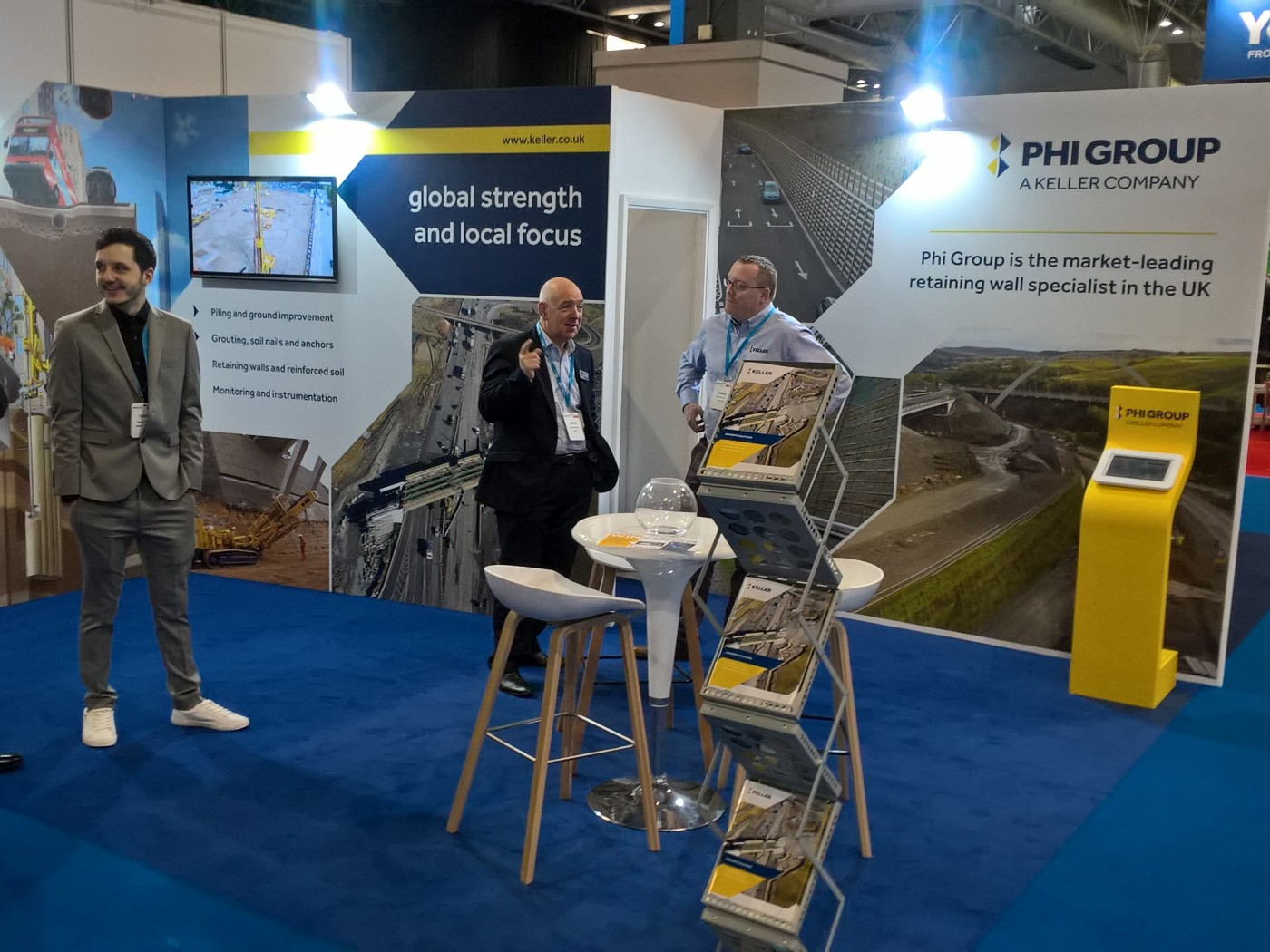 Keller Highways UK stand