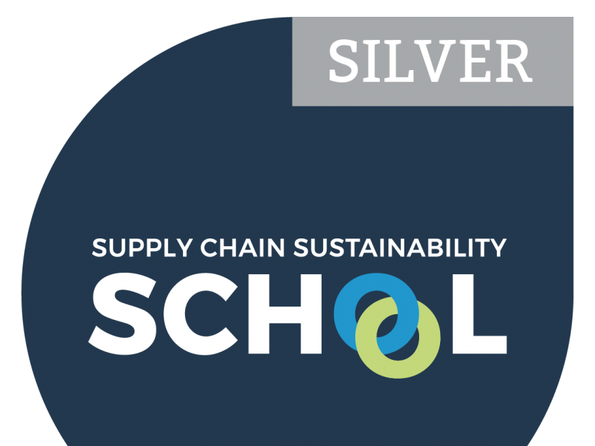 Sustainability School Silver Badge
