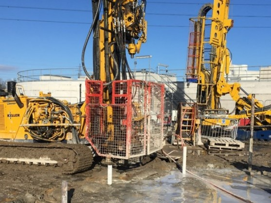 Fissure grouting at Beckton STW
