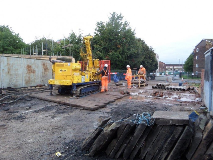 Work on bridge replacement in Manchester